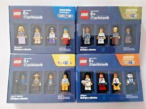 LEGO 4x BRICKTOBER 5004421 5004422 5004573 5004574 TOYS R US LIMITED EDITION OVP