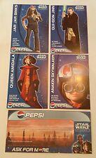 STAR WARS Episode I - Set of RARE Pepsi Promotional Postcards