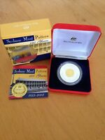 2003 150 YEARS ANV OF SYDNEY MINT PATTERN SILVER PROOF COIN 61 GRAMS SILVER