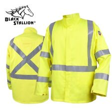 Revco Black Stallion TruGuard 250 FR Welding Jacket w/ Reflectives JF1117-HY