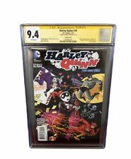 Harley Quinn #14 the new 52! D.C. Comics Signed By Bruce Timm 9.4 ,CGC