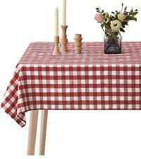 Spillproof Checkered Tablecloth (152x213cm)