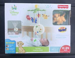 Disney Baby Musical Crib Mobile Lion King Fisher Price S2
