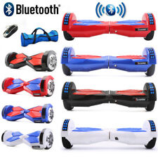 """6.5"""" Hoverboard Gyropode Self Balancing Scooter électrique Consei+Bluetooth +LED"""