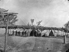 Union US Hospital Tents City Point, VA 1864 - 8x10 US Civil War Photo