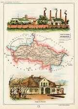 Kutno 1907 Poland/Polen 15. POWIAT KUTNOWSKI GUB. WARSZAWSKIEJ. Bazewicz