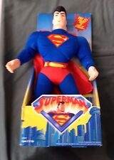 "Hasbro Kenner DC Superman 15"" Electronic Light Up Stuffed Plush Dead Battery"