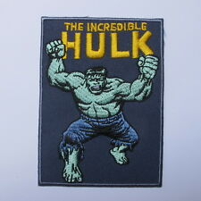 THE INCREDIBLE HULK COMIC SUPER HERO MARVEL EMBROIDERED IRON ON PATCH T-SHIRT  A