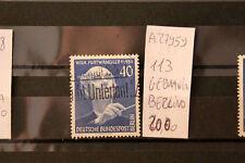FRANCOBOLLI GERMANIA BERLINO USATI N°113 (A27959)
