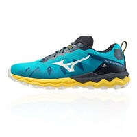 Mizuno Mens Wave Daichi 6 Trail Running Shoes Trainers Sneakers Blue Yellow