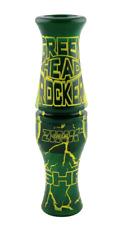 Zink Calls Green Envy Greenhead Rocker Double Reed Duck Call Waterfowl New!