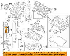 HYUNDAI OEM 10-17 Santa Fe Engine-Oil Filter 263203CAA0