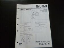 Original Service Manual Schaltplan Sony HVL-M20