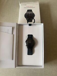 Withings STEEL HR Sport, Fitness-Tracker Laufuhr Sportuhr Hybrid-Smartwatch