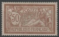"FRANCE STAMP TIMBRE N° 120 "" TYPE MERSON 50c  BRUN ET GRIS "" NEUF xx LUXE  M456"