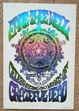 Grateful Dead Santa Clara Poster Print Ryan Kerrigan BLUE Fare Thee Well GD50