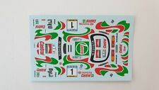 DECAL 1:43 TOYOTA CELICA 4WD #1 J. KANKKUNEN / J. PIRONEN - RALLY SAFARI 1993