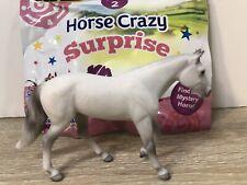 Breyer Stablemates Horse Crazy Series 2 White Quarter Horse New Opened Blind Bag