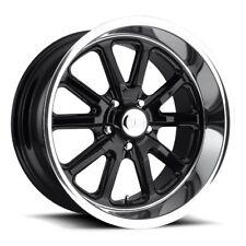 One 18x9.5 Us Mag Rambler U121 5x4.75 ET1 Gloss Black Wheel