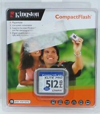 Kingston 512 MB CompactFlash Card CF/512-S