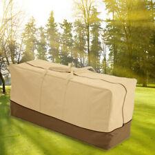 Garden Furniture Cushion Storage Bag Outdoor Waterproof Patio Pad Large Case