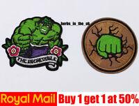 Avengers Superhero Hulk Iron On Sew On Patch Badge