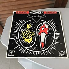 1993#  SINGLE VINYL VINILE# WONKA RMX REMIX AQUASTEP