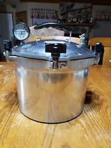 All American No. 910 Pressure Canner Cooker