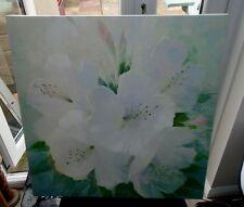 Laura Ashley 60cm x 60cm Stretch Canvas Flower Picture