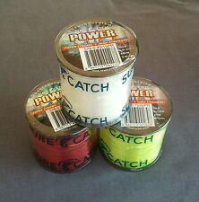 SureCatch Power Mono Line 3 x 4oz Spools - select colours and breaking strains