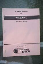 Galanti Group Wizard Electronic Organ Schematic Diagram