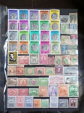 COLLECTION OF GUATEMALA + EL SALVADOR STAMPS