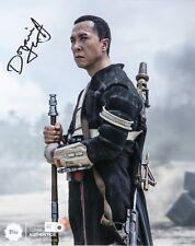 Topps Authenics Star Wars Rogue One Donnie Yen Chirrut Imwe 8x10 Autograph Photo