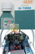 """Russian AF Sukhoi fighters familis cockpit Gray Dark Blue, by """"AKAN"""" 73069"""