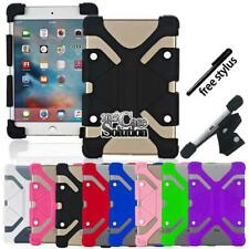 Bumper Silicone Stand Cover Case For Apple ipad 2/3/4/5/6 air Pro Tablet +Stylus