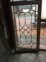 Sg 2715 Threev Price Each Antique Diamond Pattern Transom Window 18 X 28.75