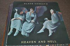 BLACK SABBATH     HEAVEN AND HELL    LP   VERTIGO    PRICE 10   1983    RE ISSUE