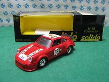 PORSCHE  934 Turbo  Le Mans 1978           -  1/43  Solido  68