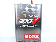 5Liter Motul 300V 15W50 Competition Öl Motoröl 15W-50 Motorsportöl Rennsport Öl