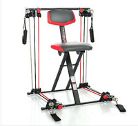 Nano Gym Supreme Total Home Exercise Workout Machine Gel Seat.