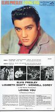 CD ALBUM Elvis PRESLEY Loving you (1957) - Mini LP REPLICA  13-track CARD SLEEVE
