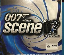 007 Edition Scene It The DVD Game. Sealed Figures Complete.
