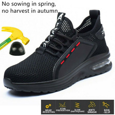 Lightweight Steel Toe Cap Safety Shoes Mens Work Boots Air Hiking Trainers Nice
