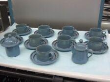 ( 20 ) Piece Dansk International Japan Nielstone Speckled Blue Coffee/Tea Set
