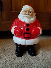 Vintage Hard Plastic Light Up Santa Claus 8 1/2 in General Products Co. 1950s/60