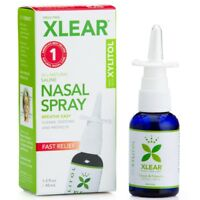 Xlear - Xylitol Saline Nasal Spray - Fast Clean Gentle Natural Sinus Relief NEW