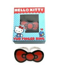 Hello Kitty Bow 2 Finger Ring Gift