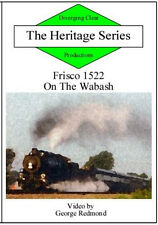 Frisco 1522 On the Wabash DVD NEW St Louis & San Francisco NS main to Decatur