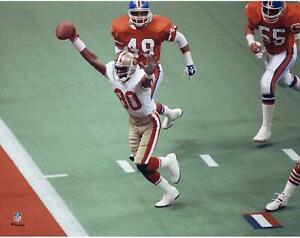 """Jerry Rice Francisco 49ers Unsigned Super Bowl XXIV Touchdown 11"""" x 14"""" Photo"""