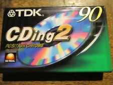 TDK CDing 2 90 eine Kassette